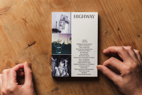 "NEW MUSIC MAGAZINE ""HIGHWAY"" 1ST ISSUE"