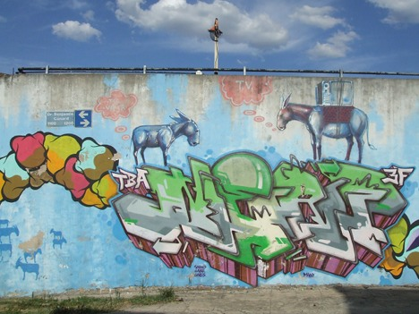 街头艺术旅游
