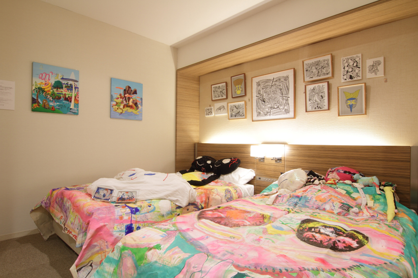 1306号室 mograg garage(東京) 写真:小牧寿里