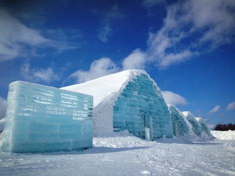 Ice Hills Hotel in Toubetsu 2014