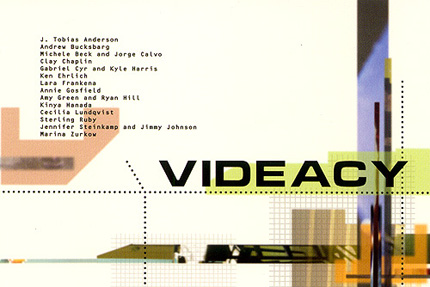 VIDEACY – MOVING IMAGES, SOUND AND MUSIC