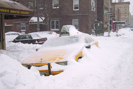 BLIZZARD OF NEW YORK, 2003