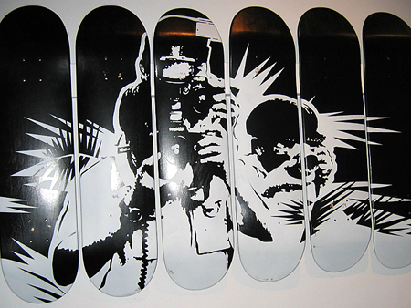 THE SKATEBOARD ART SHOW