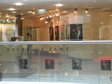 "GREG GORMAN  ""FACES OF FAME"""