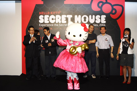 HELLO KITTY SECRET HOUSE