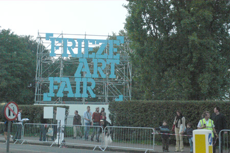 FRIEZE LONDON 2006
