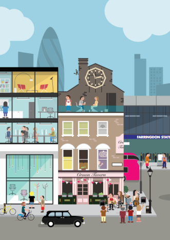SC_Illustration for Clerkenwell Design Week - Stephen Cheetham