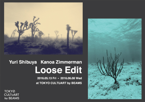 "YURI SHIBUYA + KANOA ZIMMERMAN EXHIBITION ""LOOSE EDIT"""