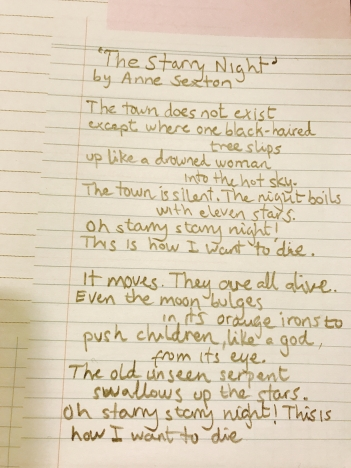 The-Starry-Night-by-Anne-Sexton.-Handwritten-by-Victor-Moreno-2016