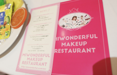 "MIWONDERFUL ""MAKEUP RESTAURANT"" IN LA"