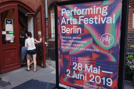 PERFORMING ARTS FESTIVAL IN BERLIN 2019