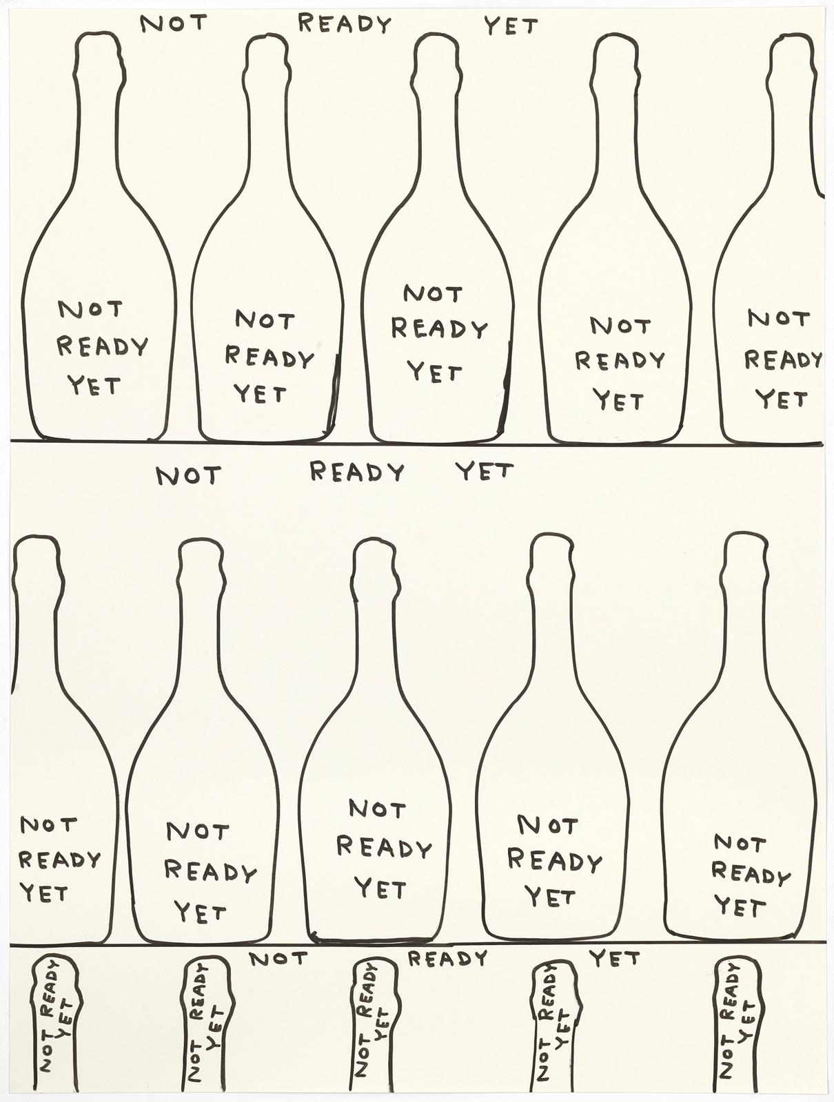 "DAVID SHRIGLEY × RUINART ""UNCONVENTIONAL BUBBLES"""