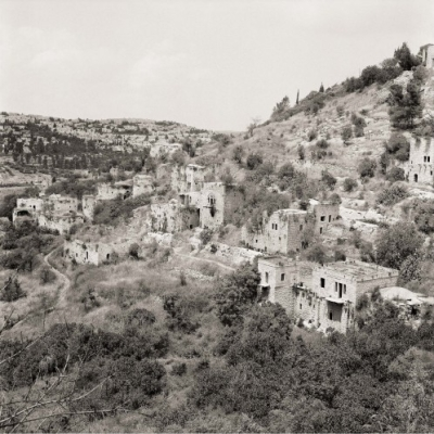 Lifta - Jerusalem District, Fazal Sheikh, The Erasure Trilogy (2015). Presented as part of Memory Trace, 2016, at Storefront for Art and Architecture.