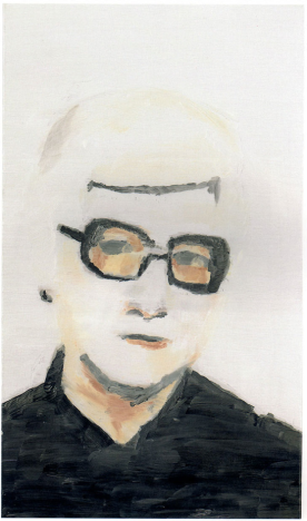 Portrait by Luc Tuymans, 2000; Private Collection; Courtesy David Zwirner, New York/London