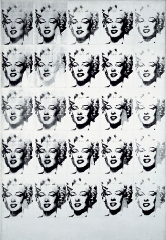 Andy Warhol, Marilyn in Black and White, 1962 © Andy Warhol Foundation for the Visual Arts / ARS, New York / Bildupphovsrätt 2017