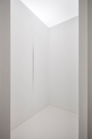 "LUCIO FONTANA ""WALKING THE SPACE: SPATIAL ENVIRONMENTS, 1948 – 1968"""